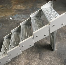 Modular Steel Staircase